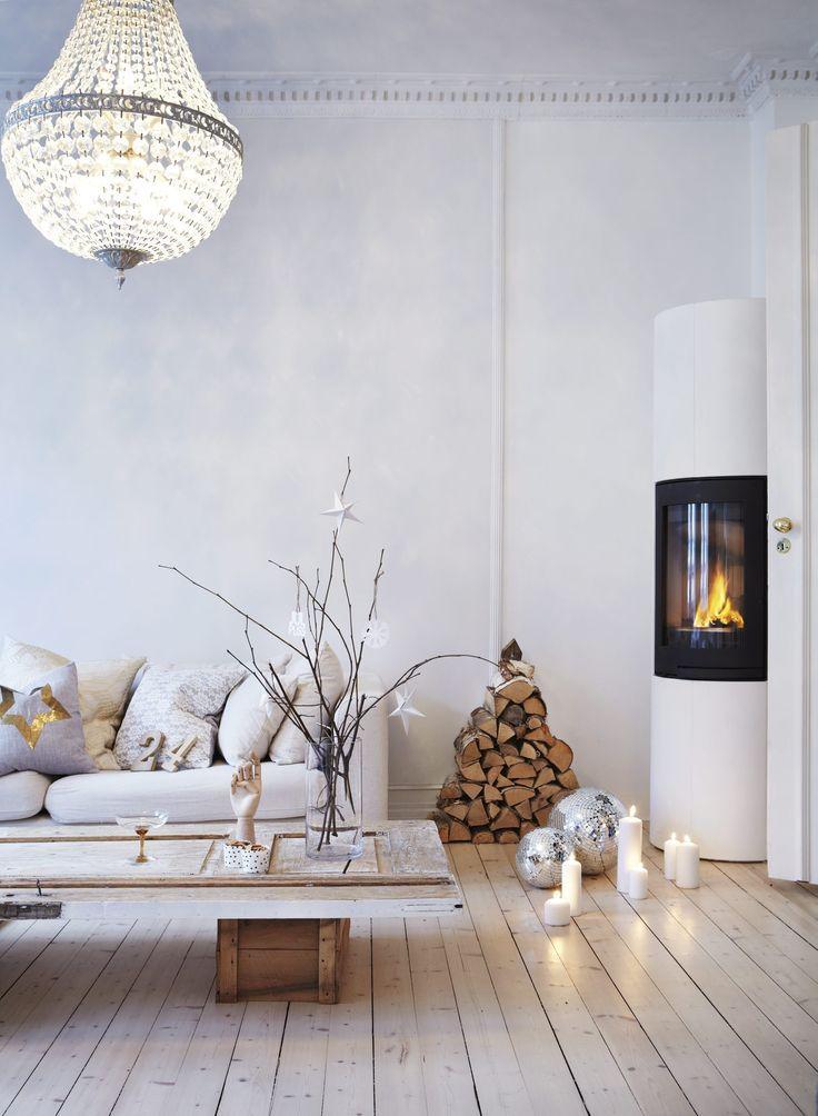 fireplace scandinavian icelandic beige white washed out weatehred hardwood floors diy door old