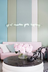 10 Gorgeous Nude and Blush Pink Living Spaces - shoproomideas