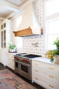 Farmhouse Kitchen Tile Backsplash | Desainrumahkeren.com