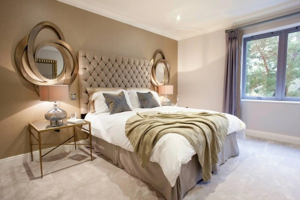 gold and white master bedroom Decorating ideas Archives - shoproomideas