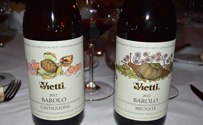 Rượu Vang Ý Vietti Barolo Castiglione
