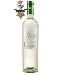 Rượu Vang Chile G7 Clasico Trắng khi nhìn sẽ thấy có màu vàng vàng nhạt và xanh nhẹ. Sự đậm đà và lượng tannin tròn đầy