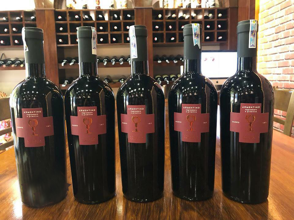 Nhà phân phối rượu vang Armentino tại Bạc Liêu giá rẻ
