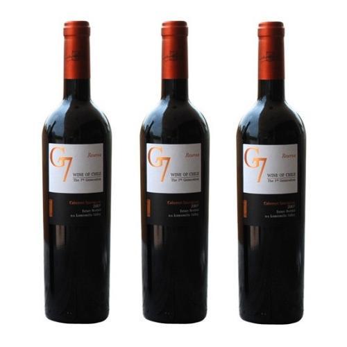 Rượu Vang Chile G7 Clasico đỏ