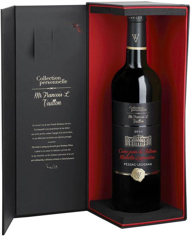Rượu Vang Pháp Cuvee Privee du Chateau Malartic Lagravere 2014