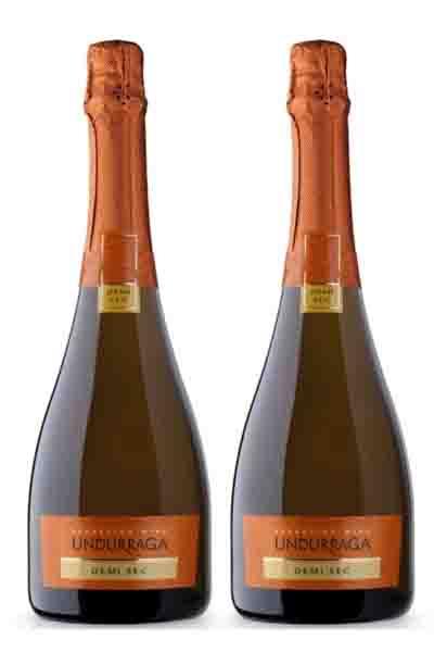 Rượu Vang Sparkling Wine Undur Demi Sec