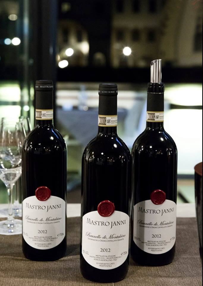 Rượu Vang Ý Mastrojanni Brunello di Montalcino