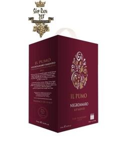 Rượu Vang bịch Ý IL Pumo BIB 3000ml được làm từ giống nho Negroamaro. Rượu mang hương thơm dịu nhẹ