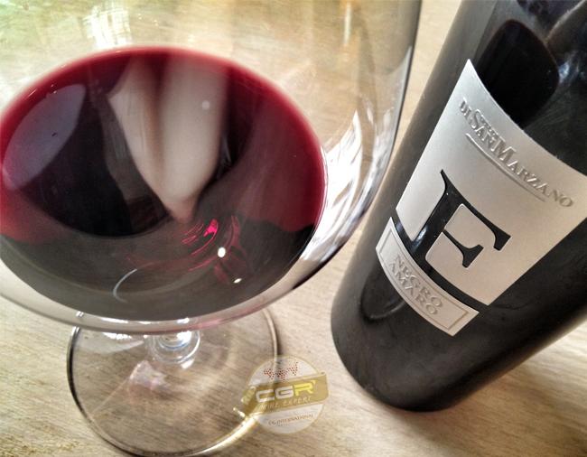Ly Rượu Vang F đỏ - đặc sản nước Ý