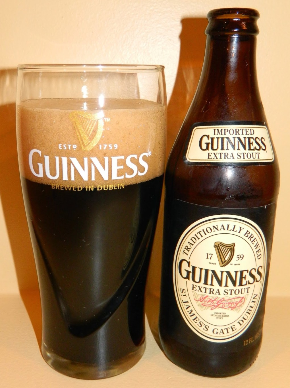 Bia Guinness Extra Stout 5,6%