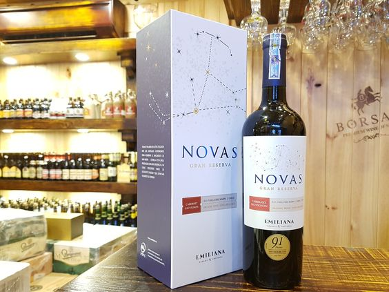 Nhà nhập khẩu rượu vang chile novas tại Bạc Liêu giá tốt nhất