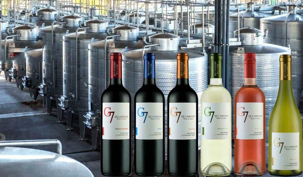 Nhà cung cấp rượu vang g7 merlot tại Hồ Chí Minh giá tốt nhất