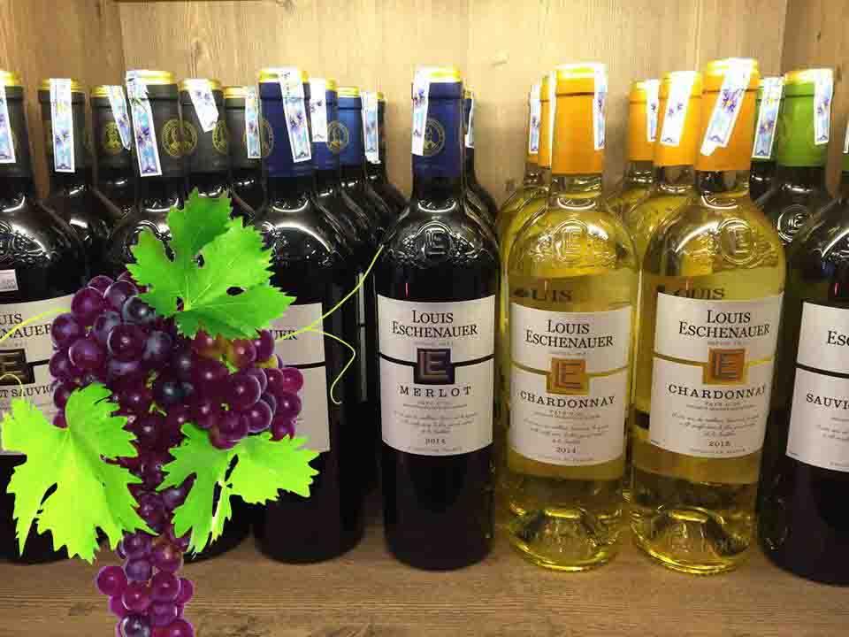 Bán rượu vang Pháp louis eschenauer bordeaux white tại Khánh Hòa giá Tốt
