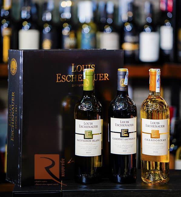 Bán rượu vang Pháp louis eschenauer bordeaux white tại Đà Nẵng giá Tốt