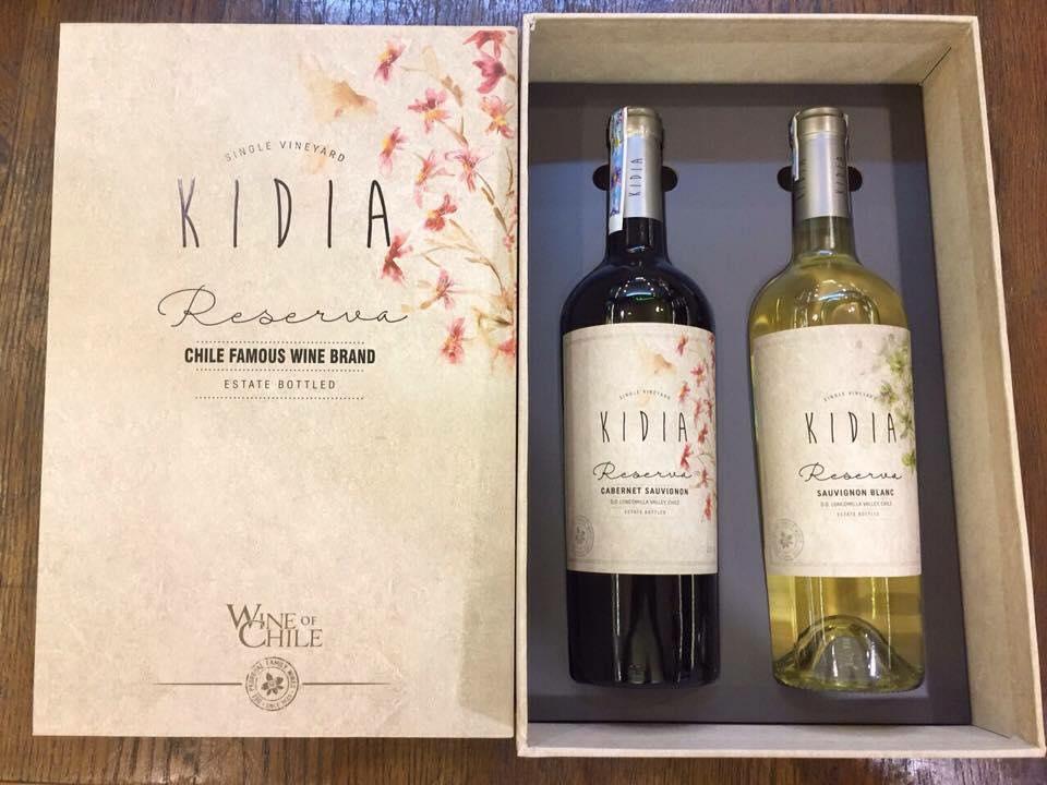 Rượu vang chile kidia reserva cabernet sauvignon tại Quảng Nam giá tốt nhất
