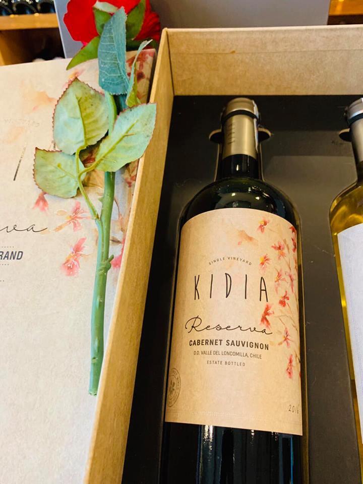 Rượu vang chile kidia reserva cabernet sauvignon tại Đồng Nai giá tốt nhất