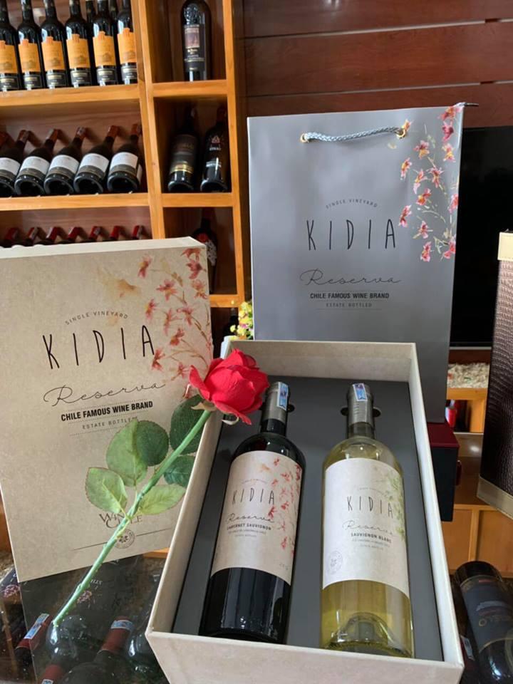 Rượu vang chile kidia reserva cabernet sauvignon tại Vĩnh Phúc giá tốt nhất
