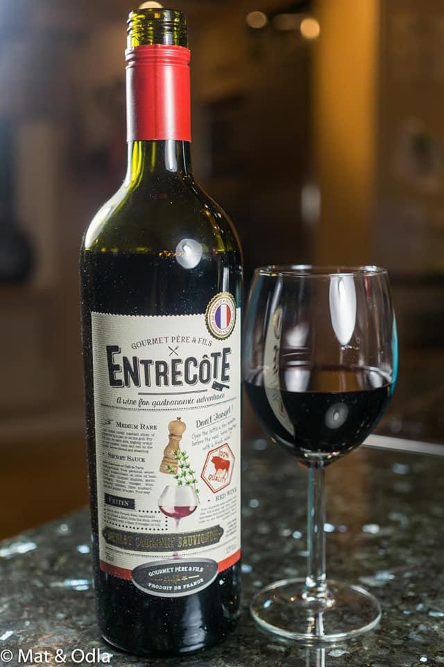 Bán rượu Vang Pháp Entrecote Melot Cabernet Syrah tại Khánh Hòa ưu đãi nhất