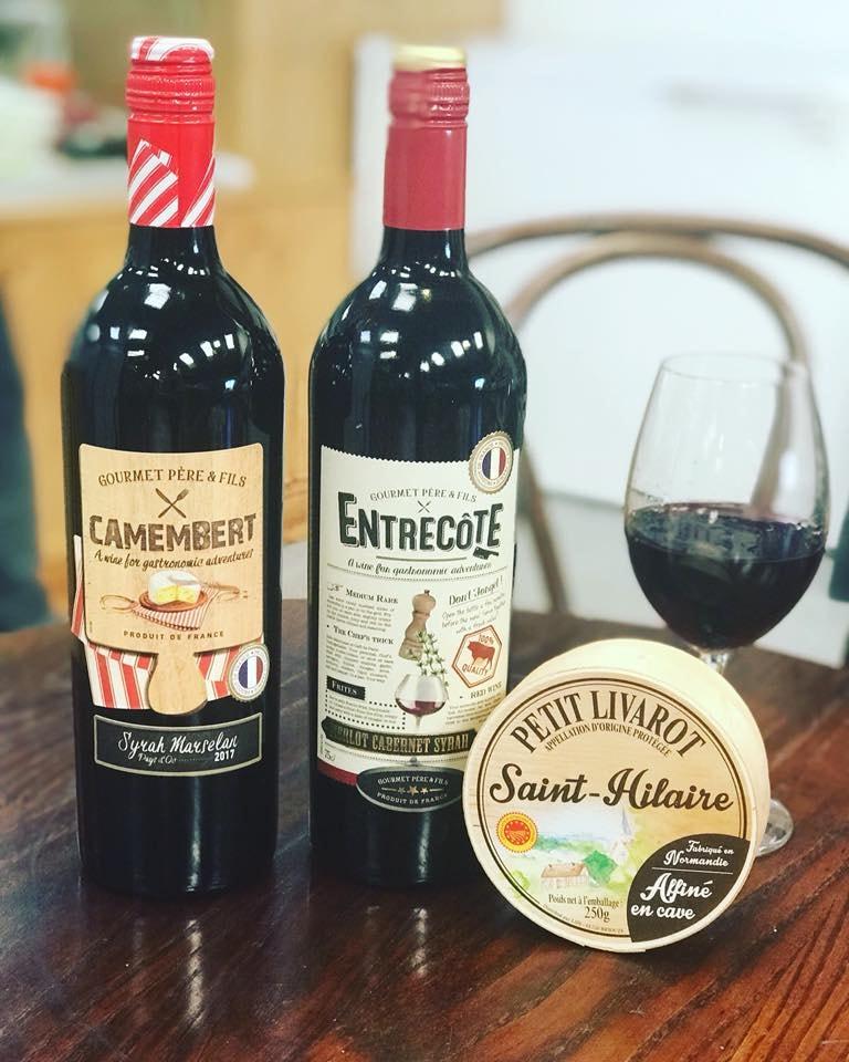 Bán rượu Vang Pháp Entrecote Melot Cabernet Syrah tại Cao Bằng ưu đãi nhất