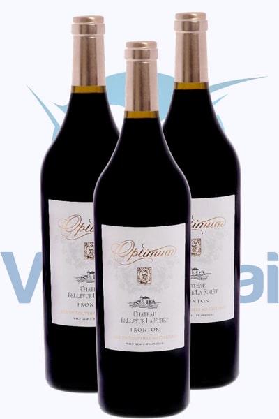 Cung cấp rượu vang optimum aoc tại Phú Quốc giá tốt nhất