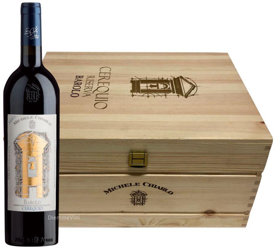 Rượu vang Michele Chiarlo Barolo Cerequio Riserva
