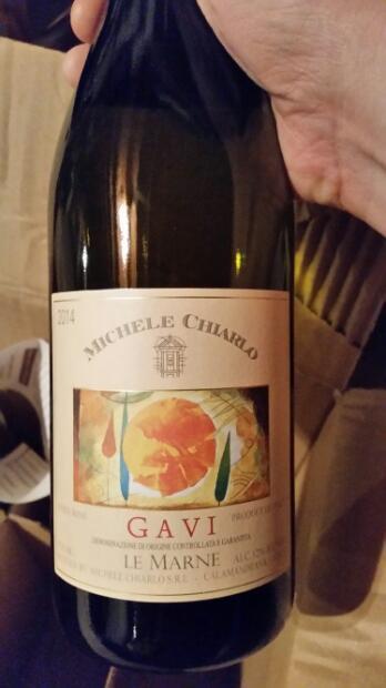 Rượu vang Michele Chiarlo Le Marne Cortese