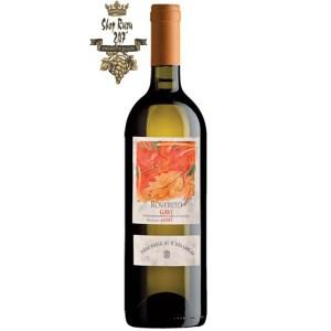 Vị rượu rất sáng với ghi chú của các loại trái cây tươi mát được liệt kê như chanh tươi, quả lê và một chút táo xanh. Đồng thời nó bao bọc lấy vòm miệng với một sự mềm mại