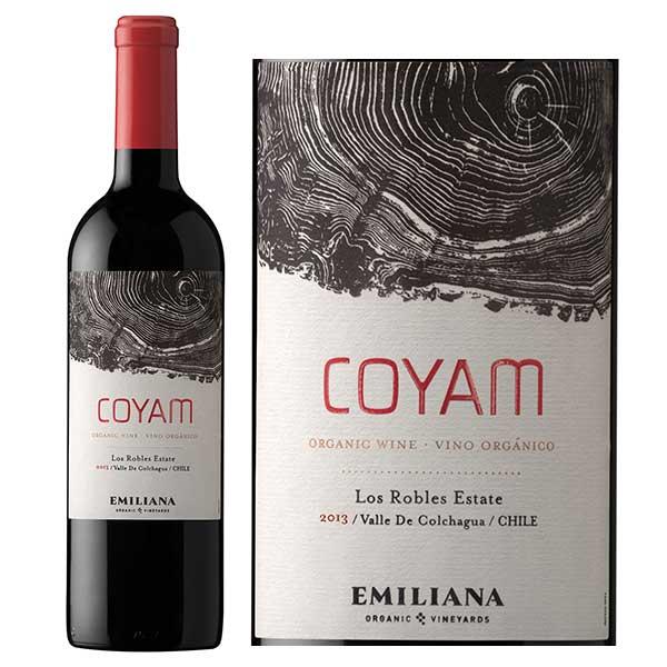 Phân phối rượu vang Chile Emiliana Coyam tại Bắc Ninh giá tốt nhất