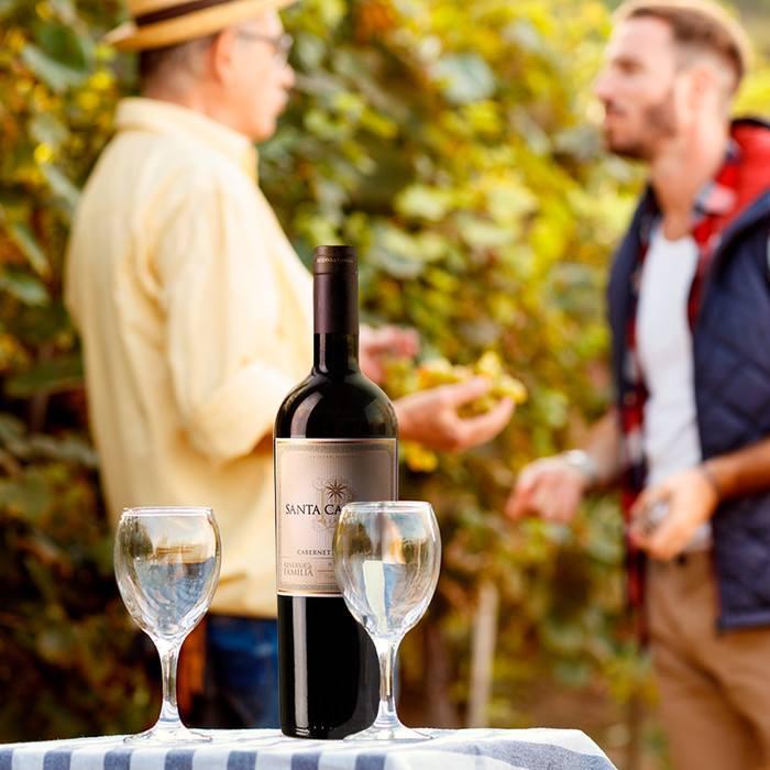 Bán rượu vang Santa Carolina Reserva Cabernet Sauvignon tại Quảng Ninh giá tốt