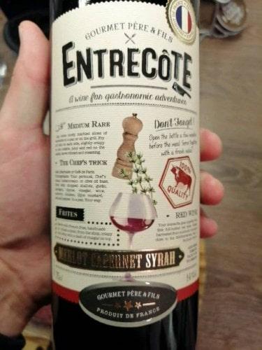 Nhà cung cấp rượu vang Entrecote Melot Cabernet Syrah tại Thanh Hóa giá rẻ