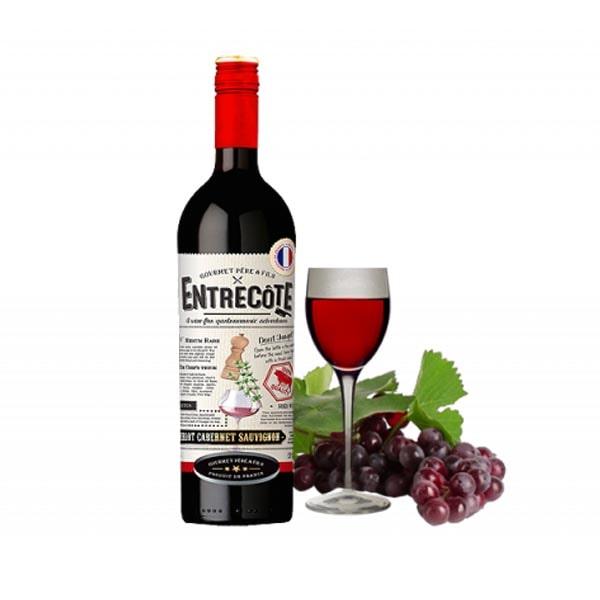 Bán rượu Vang Pháp Entrecote Melot Cabernet Syrah tại Bạc Liêu ưu đãi nhất