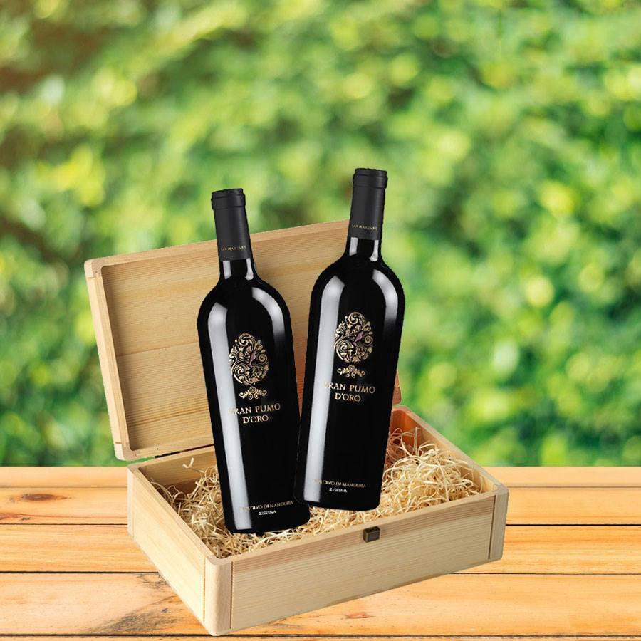Rượu vang Gran Pumo Salento tại Vũng Tàu giá nhập khẩu