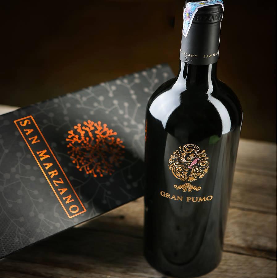 Rượu vang Gran Pumo Salento tại Đà Lạt giá nhập khẩu