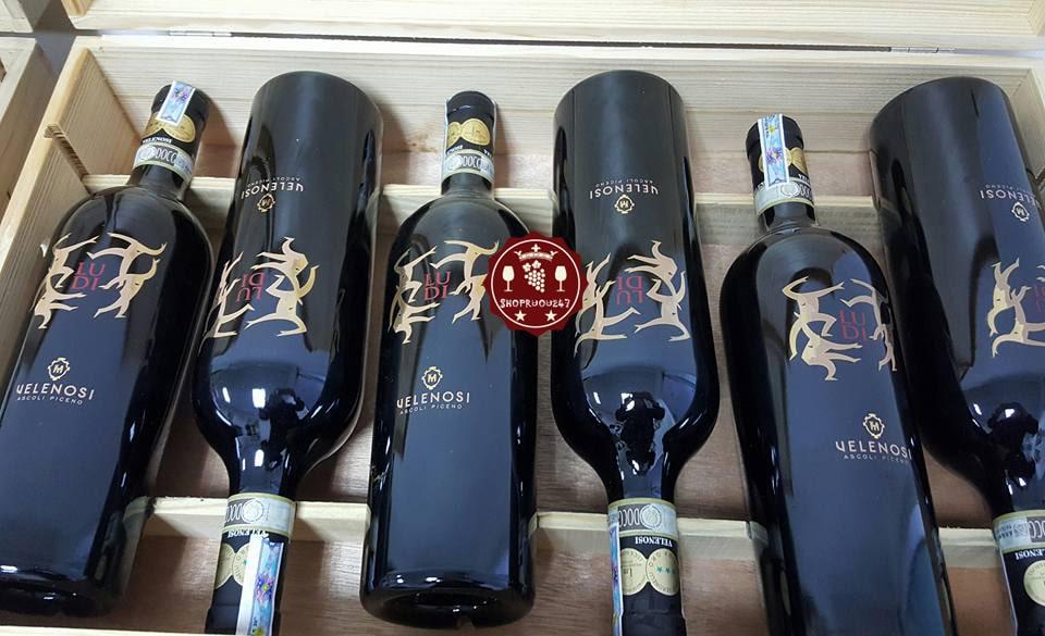 Rượu vang Ludi Velenosi Marche tại Hồ Chí Minh giá rẻ - Shop rượu 247