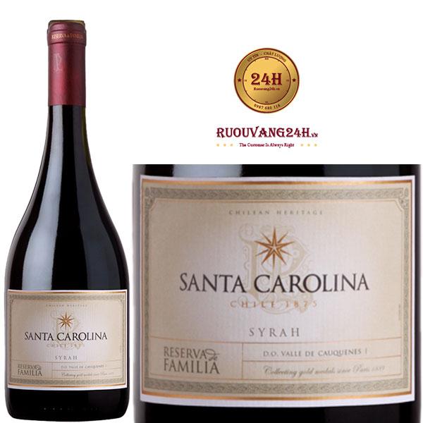 Bán rượu vang santa carolina reserva syrah tại Vĩnh Phúc giá tốt nhất