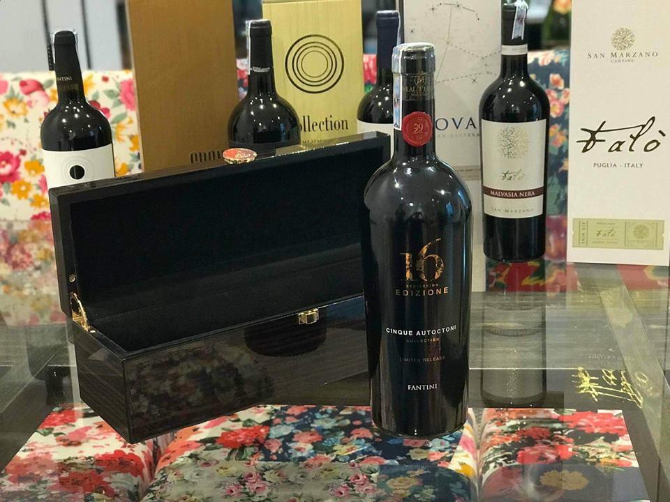 Rượu Vang Ý 16 Edizione Limited Release giá tốt tại Hà Tĩnh - Shop rượu 247