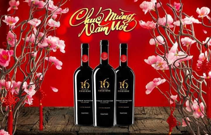 Nhập khẩu rượu vang Ý 16 Edizione Limited Release tại Uông Bí giá tốt nhất