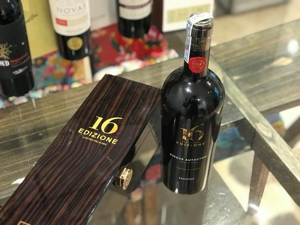 Rượu Vang Ý 16 Edizione Limited Release giá tốt tại Nghệ An - Shop rượu 247