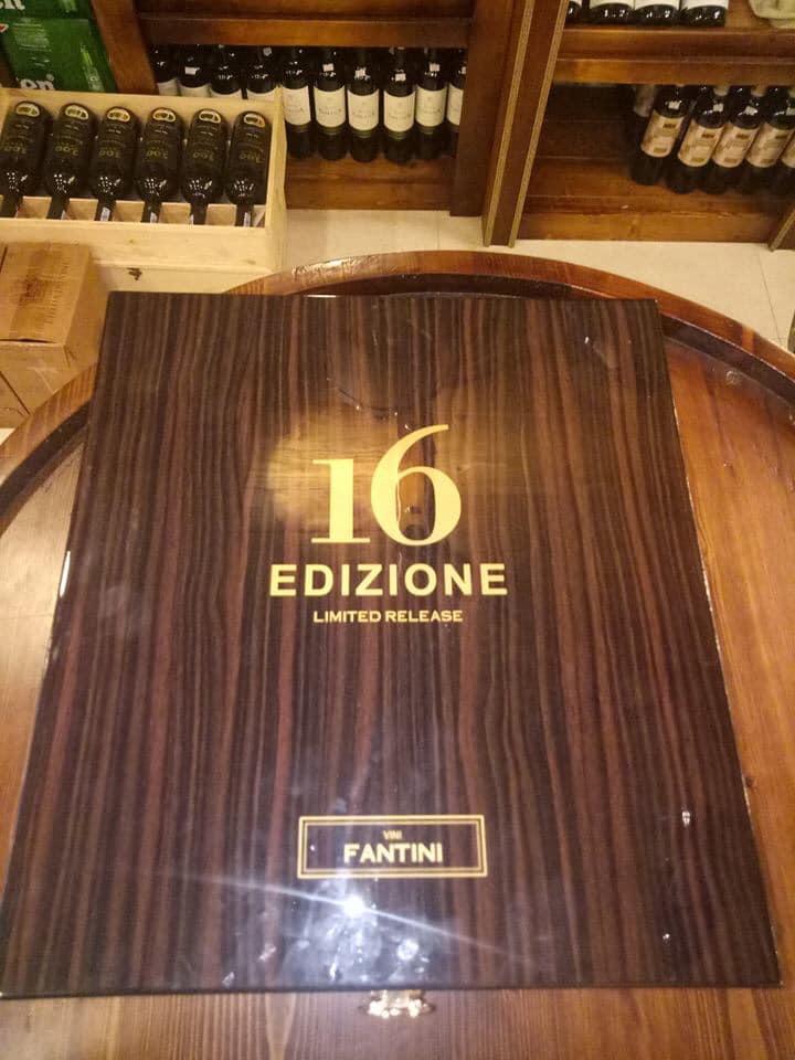 Rượu Vang Ý 16 Edizione Limited Release giá tốt tại Đà Lạt - Shop rượu 247