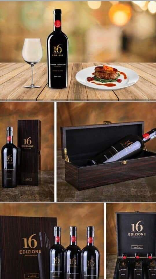 Nhập khẩu rượu vang Ý 16 Edizione Limited Release tại Phú Quốc giá tốt nhất