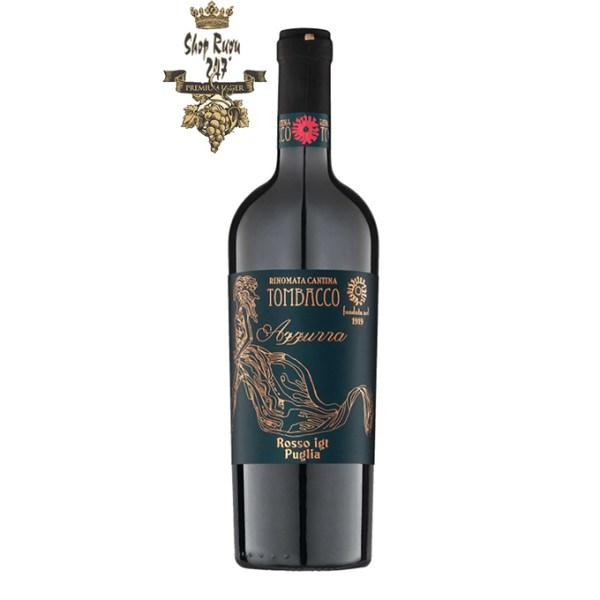 Rượu Vang Ý Tombacco Affura Puglia có màu đỏ ánh tím đẹp mắt. Hương thơm lan tỏa của trái cây, hoa quả, anh đào, mận chín cùng gợi ý của vani.