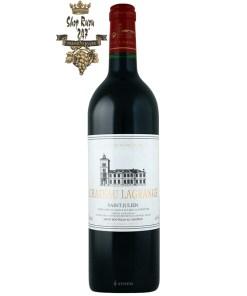 Rượu Vang Đỏ Château Lagrange Saint-Julien Grand Cru Classé có màu đỏ đậm ánh tím, một màu đỏ đậm sâu thật huyền bí và quyến rũ