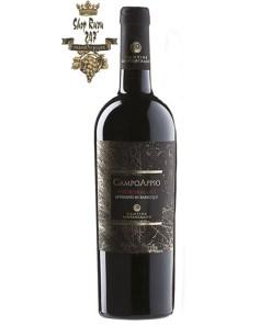 Rượu có màu đỏ sẫm pha chút ánh tím lôi cuốn kết hợp với hương thơm lan tỏa của nhiều trái cây chín như anh đào, dâu tây, mâm xôi, cam thảo