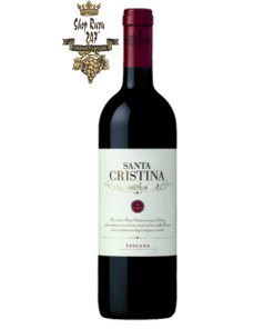 Rượu Vang Ý Antinori Santa Cristina Toscana IGT Red có màu đỏ ánh tím nổi bật. Hương thơm lan tỏa của hương hoa, trái cây cùng gợi ý của gia vị.