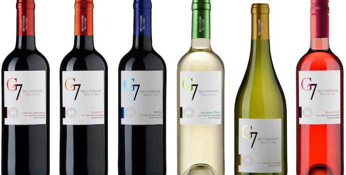 List những chai rượu G7
