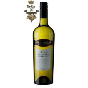 Vang Úc Badger Creek Chardonnay Semillon có màu vàng chanh đẹp mắt. Nó là một loại rượu gợi cảm, tinh tế và rất dễ uống