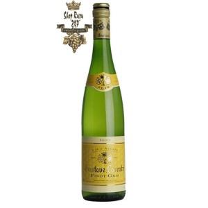 Gustave Lorentz Alsace Pinot Gris Reserve đem đến một vẻ đẹp đầy mượt mà và kiêu sa với làn rượu vàng rơm