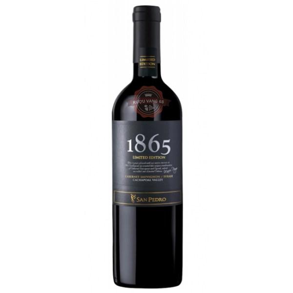 Rượu Vang Chile 1865 Limited Edition Cabernet Sauvignon Syrah