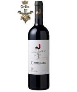 e Cantoalba Carmenere có mầu đỏ ruby đậm đặc. Hương thơm của hạt tiêu đen, của cà phê đen khói cùng hương vị của trái cây chín đỏ