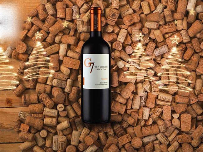 Rượu Vang Chile G7 Carmenere